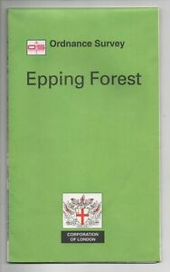 Rare EPPING FOREST Special Edition Ordnance Survey Map- Shows the whole Forest