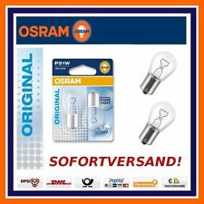 2x OSRAM ORIGINALE LINEA P21W BAU15S LUCE POSTERIORE FANALE MINI OPEL SAAB
