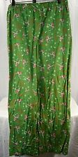 Old Navy Green Pin-Up Girls Christmas PJ Pants XL Cotton