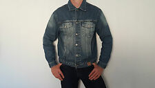 Guess Jeans chaqueta chaqueta talla L en azul Bleached