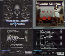 2 CD, Sapphire Eyes Debut (+1) + SONIC STAZIONE-NEXT Stop +4 (2016) work of art