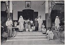 D2365 Birmania - Asilo per infanzia abbandonata - Stampa - 1925 vintage print