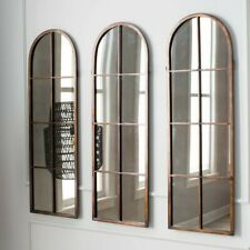 SET OF 3 french provincial style  antique wall MIRRORS  NEW (100x30 cm each)