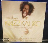 Krizz Kaliko- Misunderstood CD SEALED Single tech n9ne strange music rap music