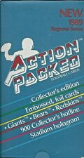 1989 Action Packed Football Cards Unopened Box Redskins NY Giants Chicago Bears