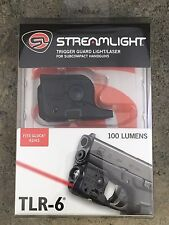 Streamlight Tlr-6 Led SubCompact Gun Flashlight for Glock 42/43 Laser 69270