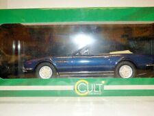 Cult Aston Martin V8 Volante convertible dk met. blue 1/18th scale REF: CML032-1