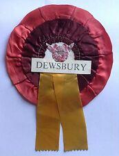 Dewsbury Vintage Good Luck Rosette Rams Rugby League Memorabilia