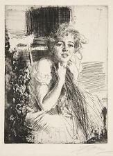 Anders Zorn Reproduction: Emma Rasmussen, 1904 - Fine Art Print