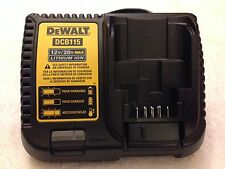 New Dewalt DCB115 12V & 20V Max Li-ion Battery Charger replaces DCB107 & DCB112