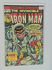 Marvel Comics - The Invincible Iron Man #74 - Gil Kane Modok Cover
