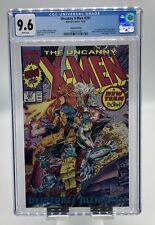 Uncanny X-Men #281 CGC 9.6 1st App Trevor Fitzroy Red Metallic Ink Logo Marvel