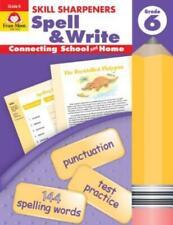 Skill Sharpeners Spell & Write Grade 6+