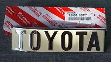 OEM Toyota Land Cruiser FJ40 BJ40 Rear Emblem Badge Logo Ornament 1969—1976