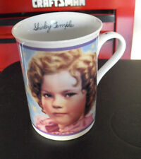"Danbury Mint Shirley Temple Mug Stowaway 1936 4"" Tall"