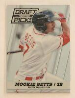 Mookie Betts 2013 Panini Prizm Perennial Draft Picks #46 Boston Red Sox