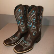 WOMENS ARIAT WESTERN COWBOY BOOT SIZE 8.5 Style 10014168