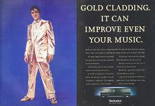 "Technics SUA 600 ""Elvis"" 1994 Magazine 2 Page Advert #3843"