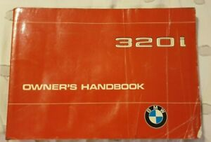 BMW Genuine OEM E21 Owners Manual Booklet