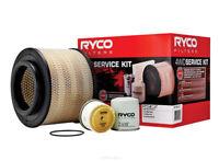 Ryco 4x4 Filter Service Kit RSK2 fits Toyota Hilux 3.0D 4x4 (KUN26R), 3.0D RW...