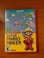 Super Mario Maker Wii U (Good Condition)