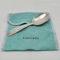 Vintage Tiffany Co Sterling Silver Baby Feeding Spoon