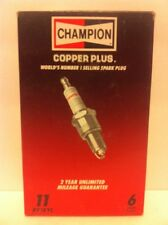 Champion RF18YC box of 6 Spark Plugs Stock No. 11 New Old Stock