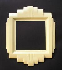 Vintage Art Deco Wide 2 Toggle Switch Plate Cover 1930's Ivory Gits Wall Plate