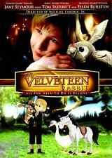The Velveteen Rabbit (DVD, 2009) Live Action + Animation, Kids Children Classic
