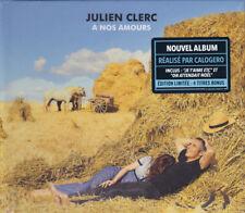 JULIEN CLERC = À Nos Amours = LIMITED EDITION 2CD = CHANSON POP !!