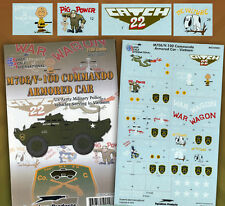 M706 / V-100 Commando Armored Car in Vietnam (1/35 decals, Superscale 350001)