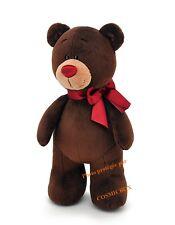 Peluche OURSON debout ours doudou en marron rouge NEUF Choco & Milk Bears cadeau