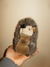 "ancien / vintage - STEIFF - JOGGI hérisson, hedgehog - height 7"" / 17cm - 80/90'"