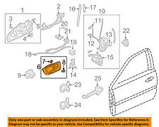 Acura HONDA OEM 01-02 MDX-Interior Inside Door Handle Left 72165S0KA02ZB