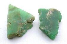28.1 Gram Natural Australian Chrysoprase Gem Silica Gem Stone Gemstone Rough CS3