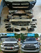 Upgrade kit Facelift For Toyota 4runner 2010-2013 to 2014-2018 Front bumper Kit
