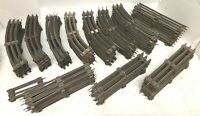 Lionel Vintage Lot - 96 Pieces of Lionel O Scale Track 58 Curved 38 Straight