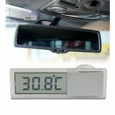 View Mirror Suction Cup Digital LCD Temperature Thermometer for Vehicle Car