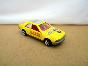 Norev Jet - Car Metal No.891  Renault Fuego  -  Yellow - OASIS Fruit Juice