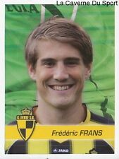 187 FREDERIC FRANS BELGIQUE SK.LIERSE STICKER FOOTBALL 2012 PANINI