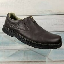Merrell World Legend Stollen Brown Leather Loafer Air Cushion Ortholite Men's 13