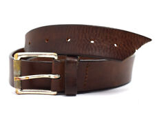 Orciani Vintage Mens Leather Belt Brown Size 34