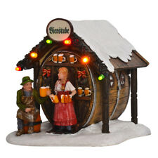 Luville 610115 Beer Tube (HT59), Illuminated, Christmas Village, ski village,