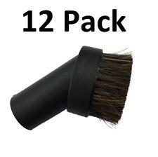 "(12) Black Horse Hair Dust Brush 1.25"" Attachment Tool Kenmore Panasonic Sears"