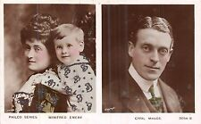 POSTCARD   ACTRESSES    WINIFRED  EMERY  &  Family