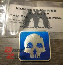 "TAD Skull Cave Abyss 2"" Titanium Patch Ti Eye Triple Aught Design Mummert NEW"