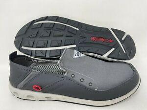 NEW! Columbia Men's PFG Bahama Vent Fishing Shoes Charc/Gray #1815351049 140P tz