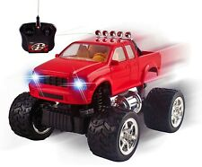 Rc Truck Off-Road 1:20 Mini Scale Big Wheel Remote Control Car Led Headlights