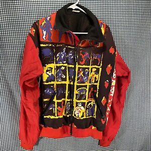 Vintage VO Max Jacket Alaska Junior National Ski Team Size Large