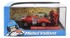 Metall Modellauto 1:43 Michel Vaillant Collection Leader marathon ink Vitrine